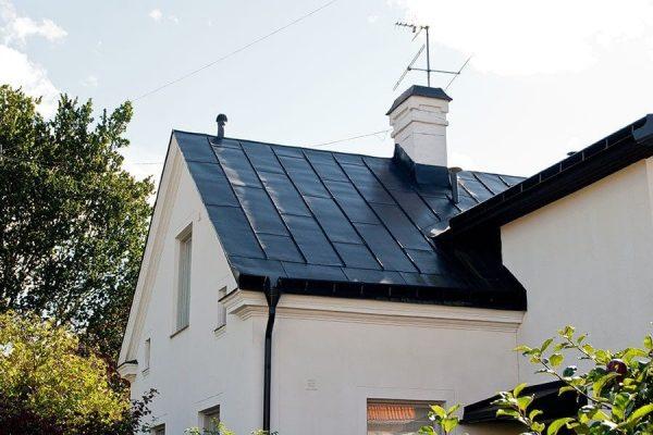 Lägga tak på villa i Stockholm